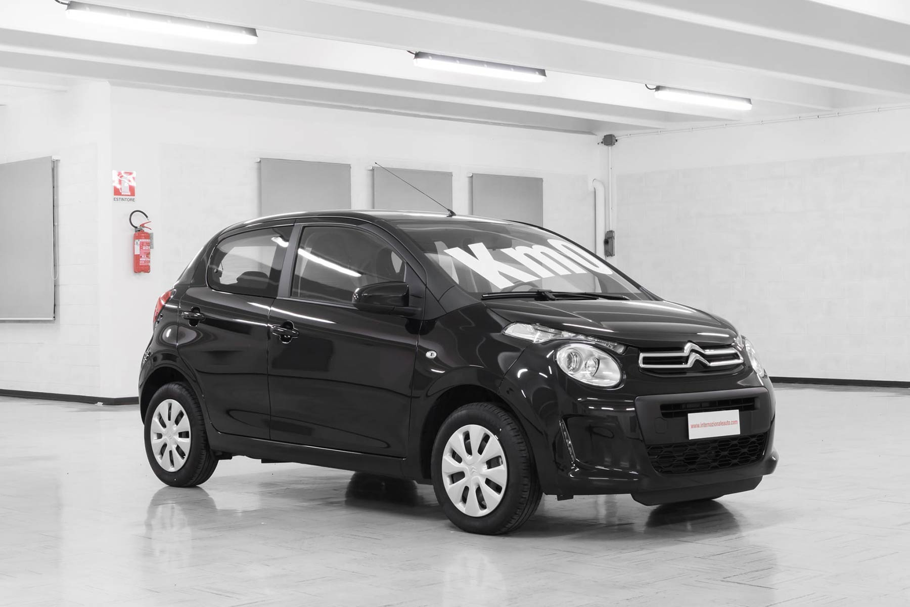 Citroen C1 Vti 68 5 Porte Feel Nero km0