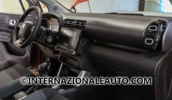 Citroen C3 Aircross Feel Arancione Tetto Nero Cruscotto km0