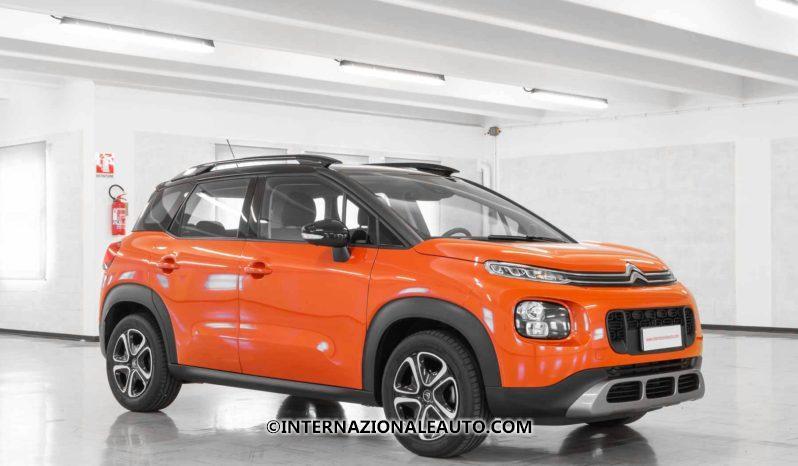 Citroen C3 Aircross Feel Arancione Tetto Nero Lato km0