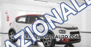 Citroen C3 Bluehdi 75 S&S Feel Bianca Tetto Rosso km0