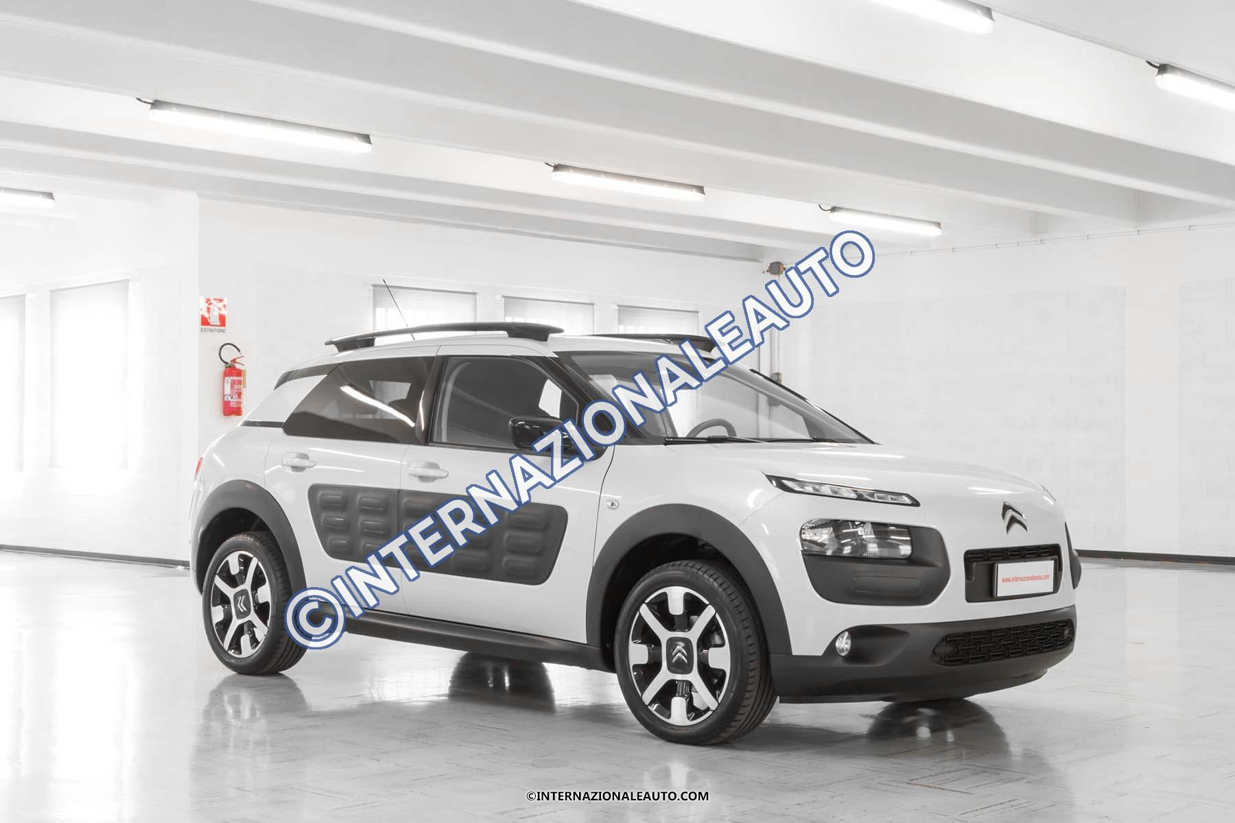 citroen c4 cactus 1 6 bluehdi 100 cv feel edition usata internazionaleauto. Black Bedroom Furniture Sets. Home Design Ideas