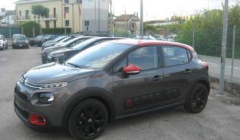Citroen C3 Shine Grigio Platinum Tetto Rosso Profilo km0