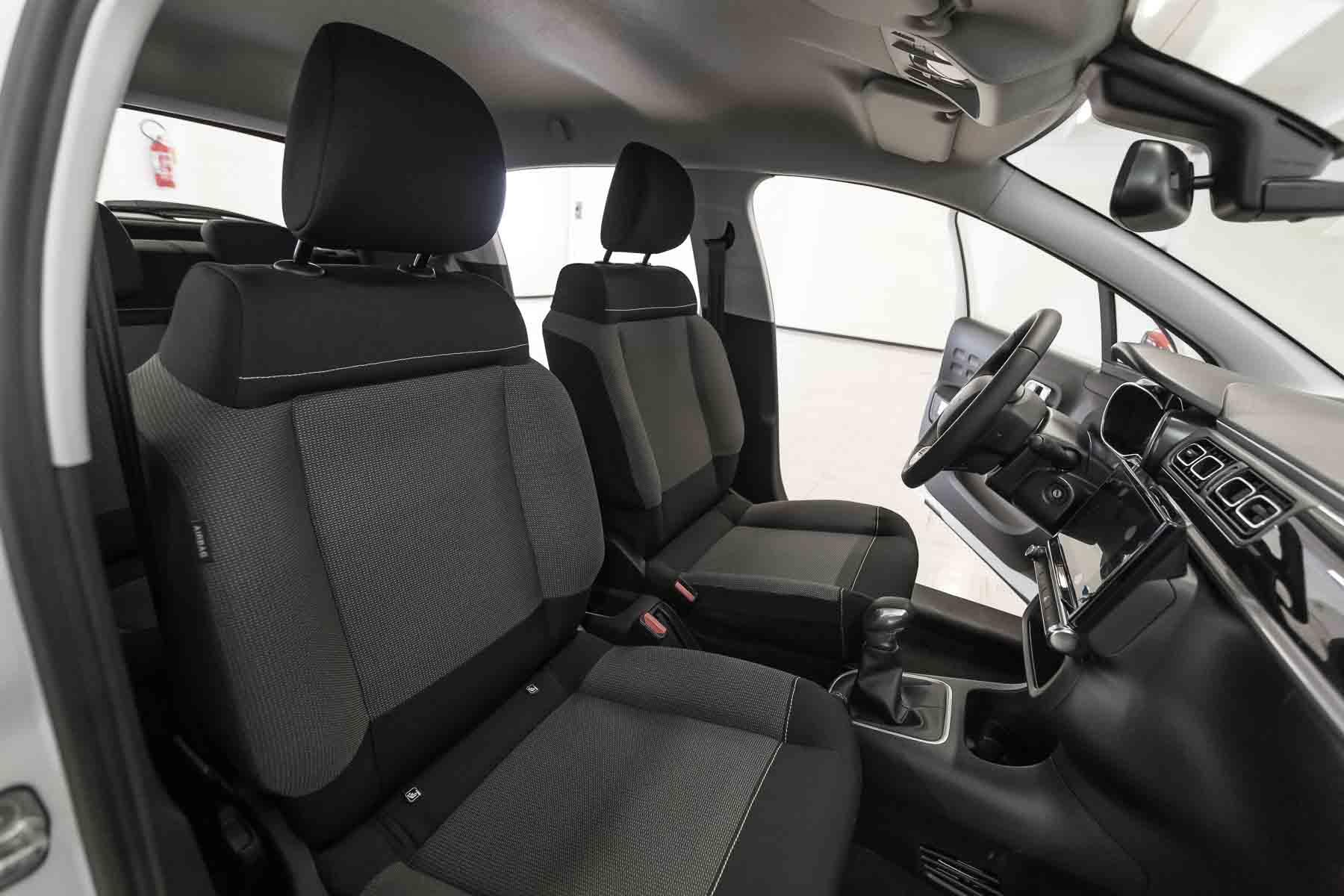 Citroen Interni C3 Shine Bianca Tetto Rosso Km0 Sedile Anteriore
