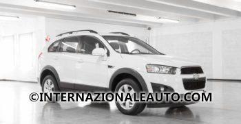 Chevrolet Captiva Bianco 2wd Ls Usata Obliquo