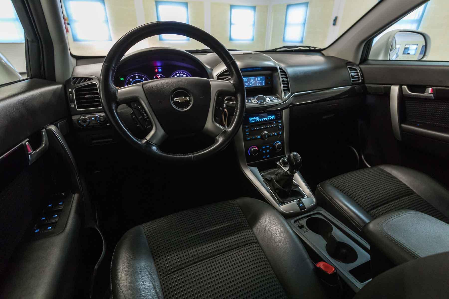 Chevrolet Interni Captiva Bianco 2wd Ls Usata Anteriore