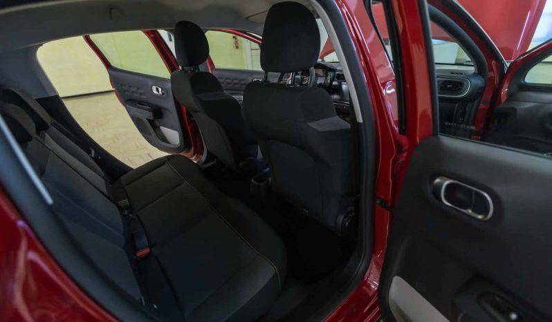 Citroen Interni C3 Shine Rossa Tetto Nero Km0 Posteriore