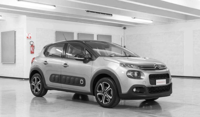 Citroen C3 Shine Steel Grey Tetto Nero Km0 Lato