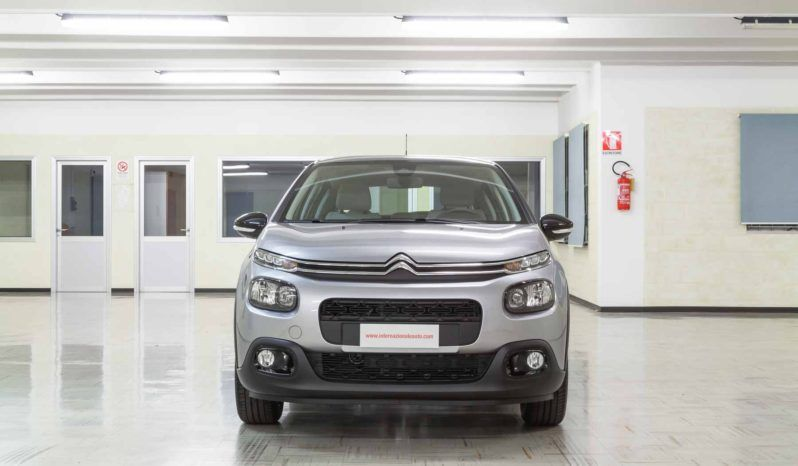 Citroen C3 Shine Steel Grey Tetto Nero Km0 Fronte