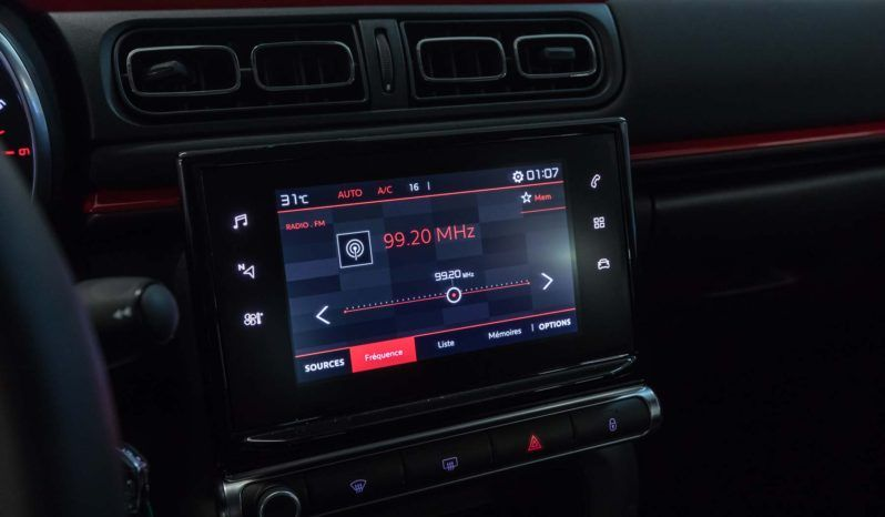 Citroen Interni C3 Shine Platinum Tetto Rosso Tessuto Red Km0 Display