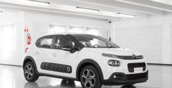 Citroen C3 Feel Bianca Airbump Km0 Lato