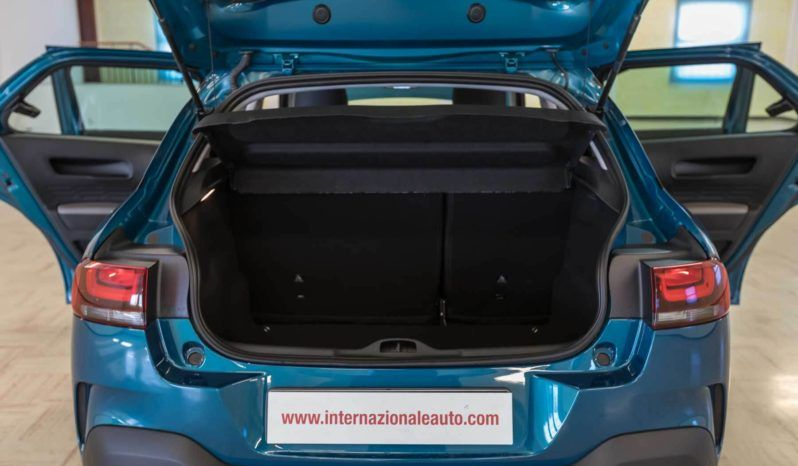 Citroen Interni C4 Cactus Feel Emerald Blue Usata Baule