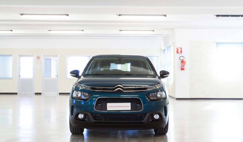 Citroen C4 Cactus Feel Emerald Blue Usata Fronte
