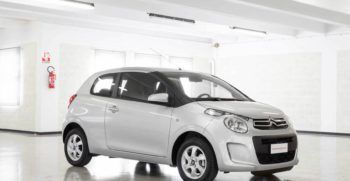 Citroen C1 Feel Silver Grey Km0 Lato