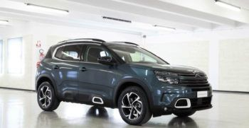 Citroen C5 Aircross 130 Feel Emerald Pelle Grey km0 Lato