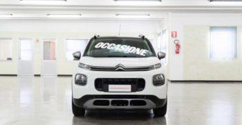 Citroen Interni C3 Aircross Feel 100 Bianco Tetto Nero Cerchi Lega 16 Usata Fronte
