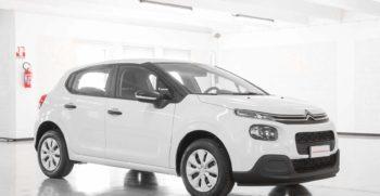 Citroen C3 Van Feel Bianco Km0 Lato