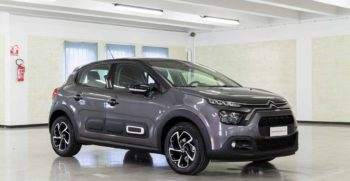 Citroen C3 Shine Platinum Tetto Nero Lato